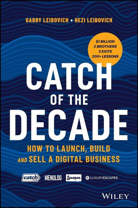 Catch of the Decade by Gabby Leibovich And Hezi Leibovich Paperback book