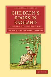 Children's Books in England by Frederick Joseph Harvey Darton Paperback book