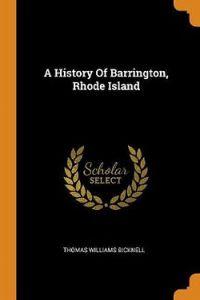 A History of Barrington, Rhode Island