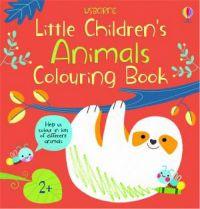 Little Children's Colouring Book: Animals