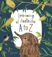 Dreaming of Australia A-Z Hardback Book by Jess Racklyeft